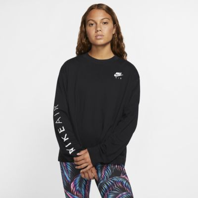 Prenda para la parte superior de manga larga para mujer Nike Air