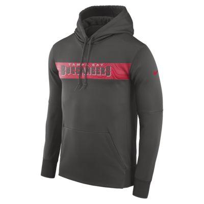 Nike Dri-FIT Therma (NFL Buccaneers) Erkek Kapüşonlu Sweatshirt'ü