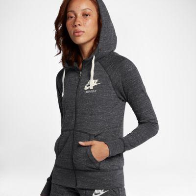 Nike Sportswear Gym Vintage hettejakke for dame