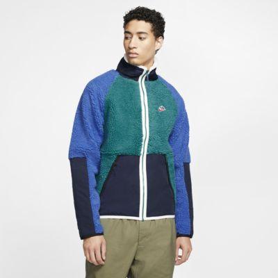 Veste en sherpa Nike Sportswear pour Homme