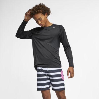 Långärmad t-shirt Hurley Quick Dry för män