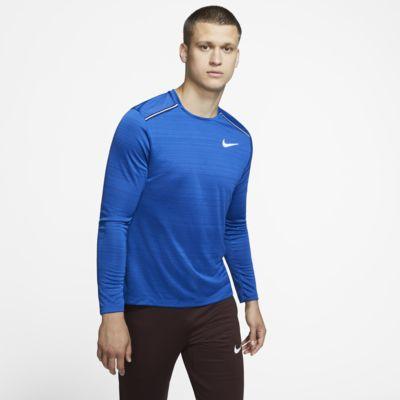 Ανδρική μακρυμάνικη μπλούζα για τρέξιμο Nike Dri-FIT Miler