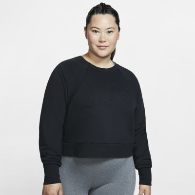 Top de entrenamiento de manga larga para mujer talla grande Nike Dri-FIT