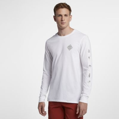Hurley Glyphs Men's Long Sleeve T Shirt. Nike.Com Gb by Nike