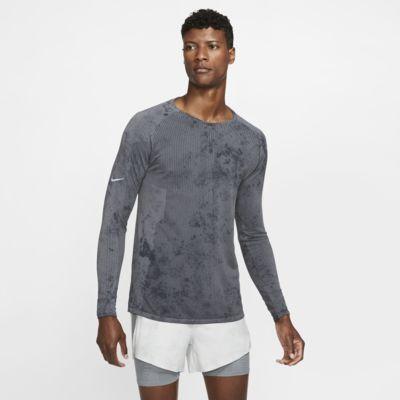 Langærmet Nike Tech Pack-løbeoverdel til mænd