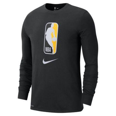 Nike Dri-FIT långärmad NBA-t-shirt för män