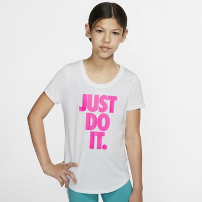 T-shirt da training Nike Dri-FIT - Ragazza