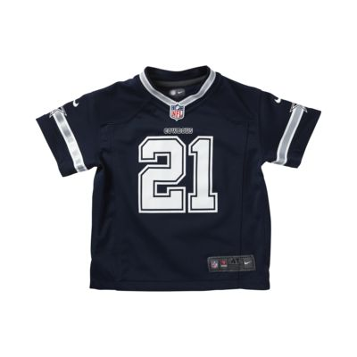 competitive price 09769 4125b NFL Dallas Cowboys (Ezekiel Elliott) Toddler Kids' Football Away Game Jersey