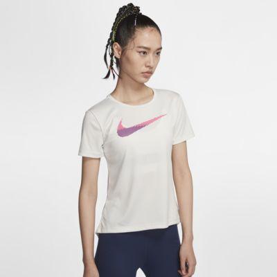 Nike Dri-FIT 女子短袖跑步上衣