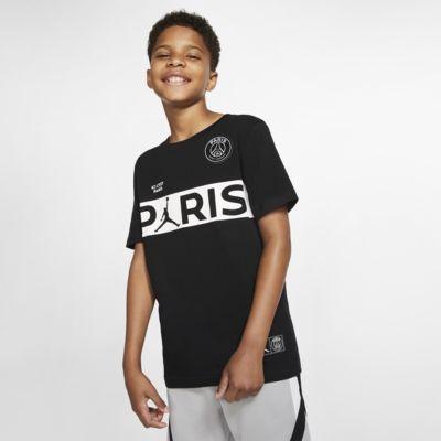 Kortärmad t-shirt PSG för ungdom (killar)