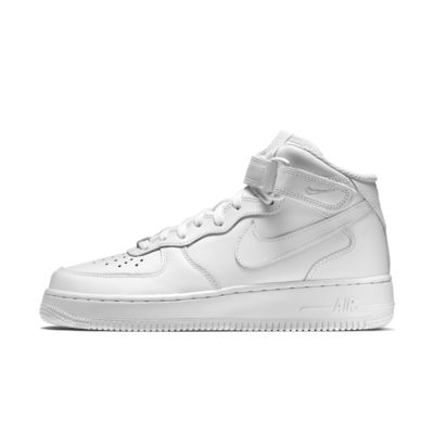 Buy nike air force high tops white > up to 68% Discounts