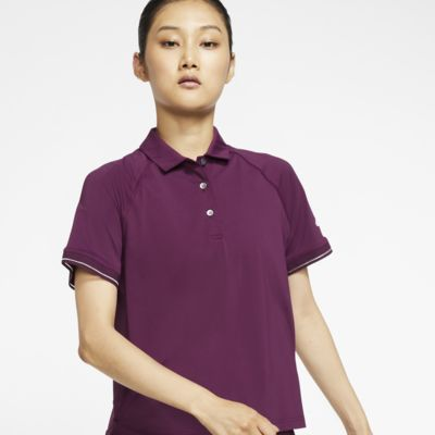 NikeCourt tennisskjorte til dame