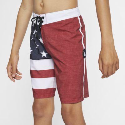 """Hurley Phantom Patriot Boys' 16"""" Board Shorts"""