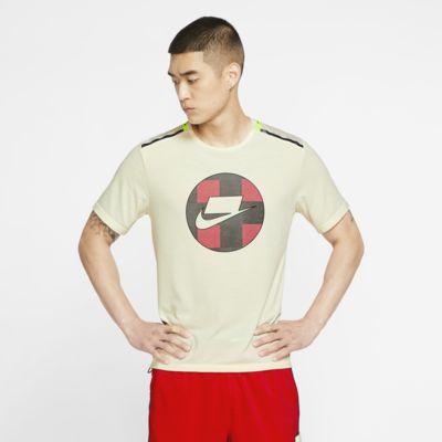 Nike Mesh 男子短袖跑步上衣