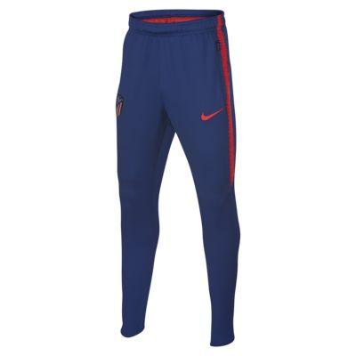 Pantalones de fútbol para niños talla grande Atlético de Madrid Dri-FIT Squad