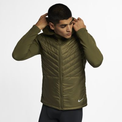 Nike AeroLayer Men's Hooded Running Jacket