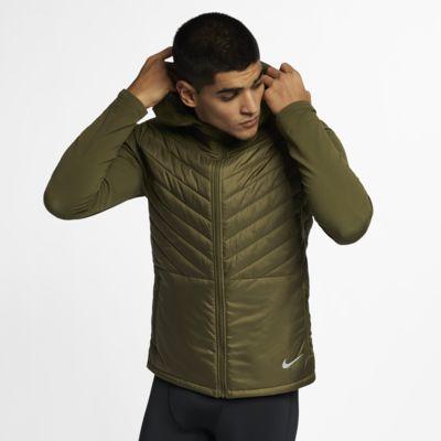 Chamarra de running con capucha para hombre Nike AeroLayer