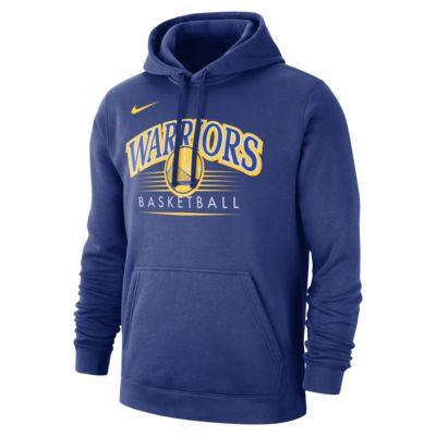 Golden State Warriors Nike NBA Erkek Kapüşonlu Üst