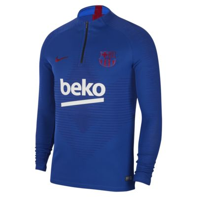 Nike VaporKnit FC Barcelona Strike Erkek Futbol Antrenman Üstü