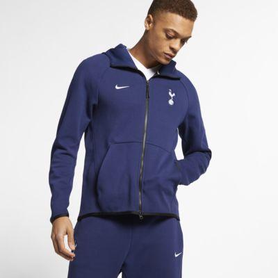 Sudadera con capucha de cierre completo para hombre Tottenham Hotspur Tech Fleece