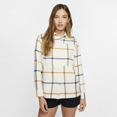 Hurley Wilson Camisa de màniga llarga de franel·la - Dona