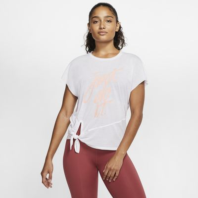Top da training a manica corta Nike Dri-FIT - Donna