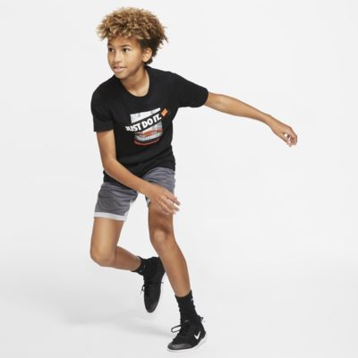 Playera de básquetbol para niños talla grande Nike Dri-FIT