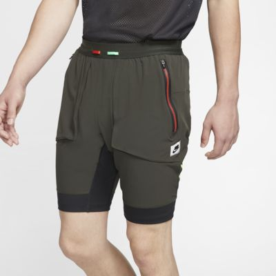Calções de running híbridos Nike Wild Run para homem