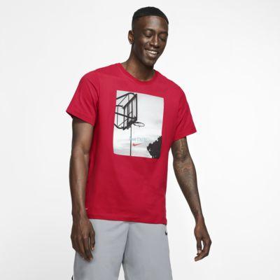 """Nike Dri-FIT """"Just Do It."""" Basketball-T-shirt til mænd"""