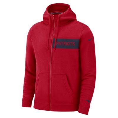 Nike Red Club Fleece Pullover Hoodie   AlexandAlexa