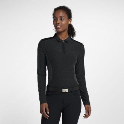 Polo de golf à manches longues Nike Zonal Cooling pour Femme