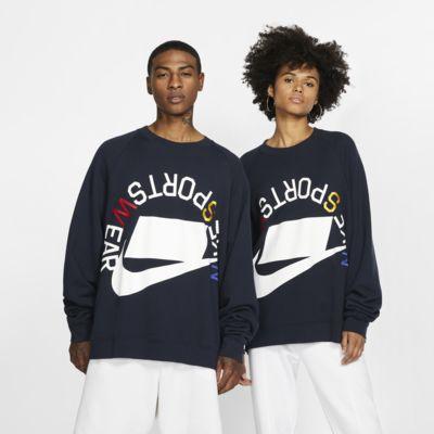 Nike Sportswear NSW Rundhalsshirt aus French-Terry