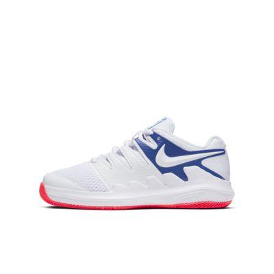 Buty do tenisa dla małych/dużych dzieci NikeCourt Jr. Vapor X