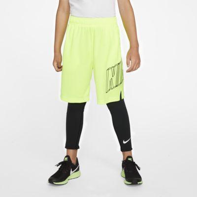 Nike Pro testhezálló edzőnadrág nagyobb gyerekeknek (fiúk)
