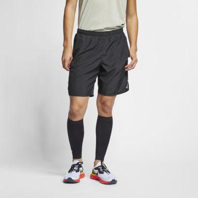 Nike Challenger fôret løpeshorts til herre (23 cm)