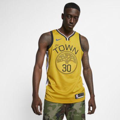 Camisola com ligação à NBA da Nike Stephen Curry Earned City Edition Swingman (Golden State Warriors) para homem