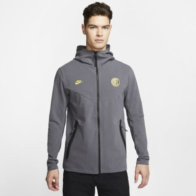Inter Milan Tech Pack Men's Full-Zip Hoodie