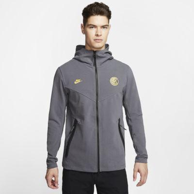 Sudadera con capucha de cierre completo para hombre Inter Milan Tech Pack