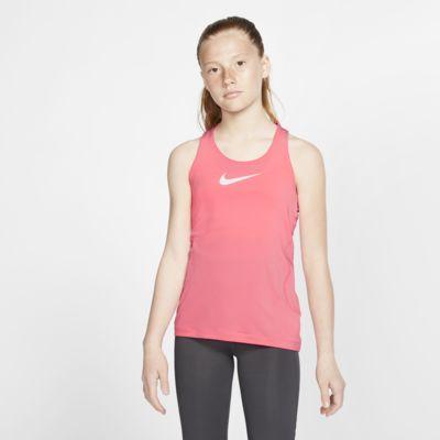 Nike Pro-tanktop til store børn (piger)