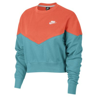Γυναικεία φλις μπλούζα Nike Sportswear Heritage