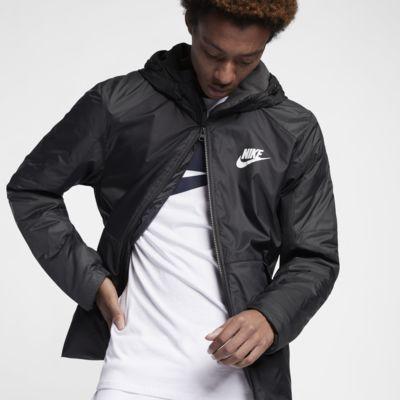 Nike Sportswear Synthetic-Fill Men's Fleece Hooded Jacket