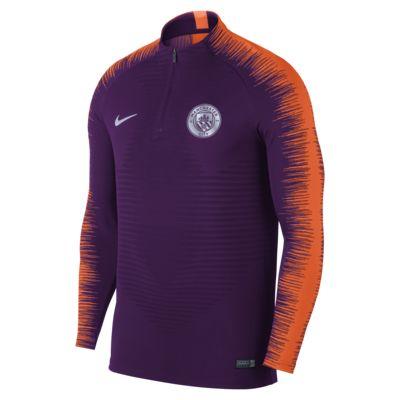 Manchester City FC VaporKnit Strike Drill Men's Long-Sleeve Football Top