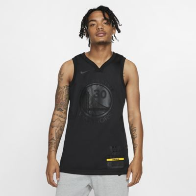 Maillot connecté Nike NBA Stephen Curry MVP Swingman (Golden State Warriors) pour Homme