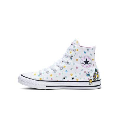 Converse x Hello Kitty Chuck Taylor All Star High Top Little/Big Kids' Shoe