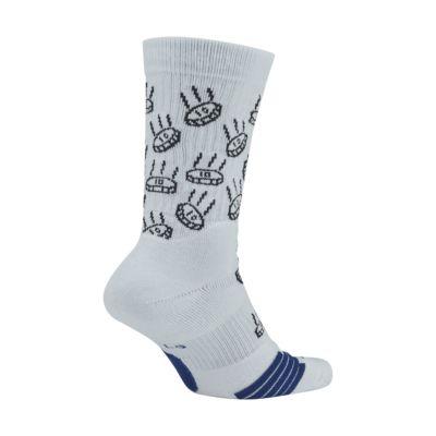 Chaussettes de basketball mi-mollet à motifs Nike Elite