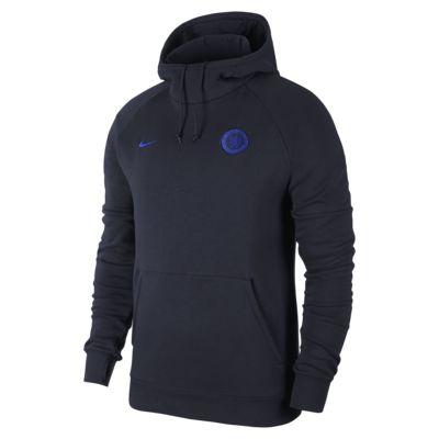 Chelsea FC Men's Fleece Pullover Hoodie