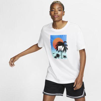 Basket-t-shirt Nike Dri-FIT för kvinnor