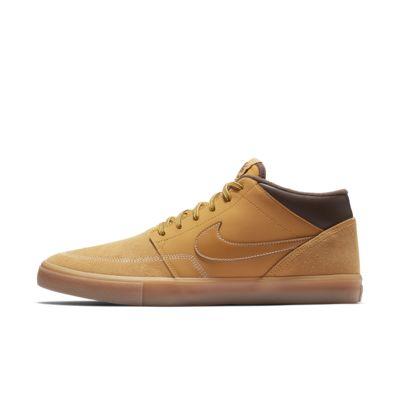 33306f474e5 Nike SB Portmore II Solarsoft Mid Bota Skateboarding Shoe. Nike.com SI