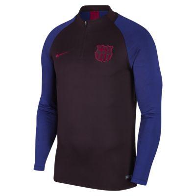 Prenda para la parte superior de entrenamiento de fútbol para hombre Nike Dri-FIT FC Barcelona Strike