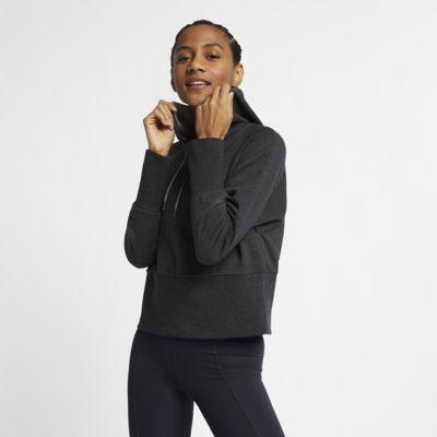Hoodie pullover de ioga Nike Studio para mulher